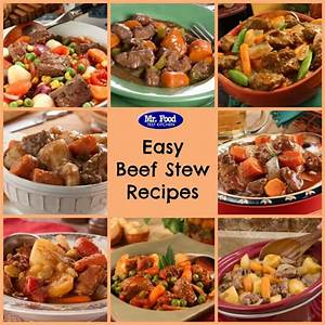 How to Make a StewTop 12 Beef Stew Recipes MrFood com