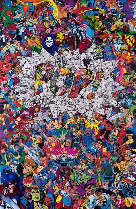 collages inspirados en superheroes de marvel por