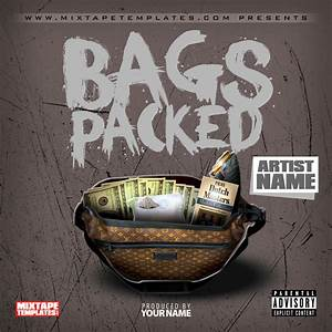 3939bags packed3939 mixtape cover template by With free mixtape covers templates