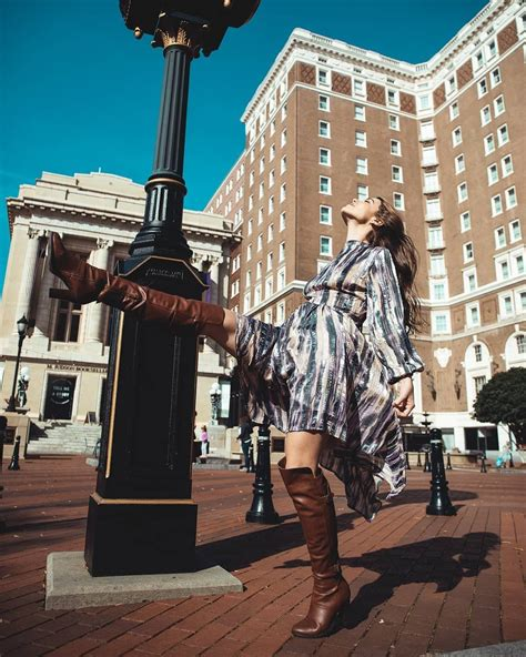 feeling fall  downtown greenville sc photo