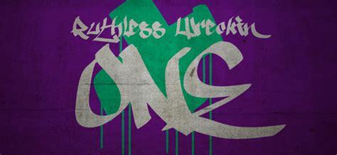 Grafiti Abjad Dan Angka : Tipografi Desain Model Huruf