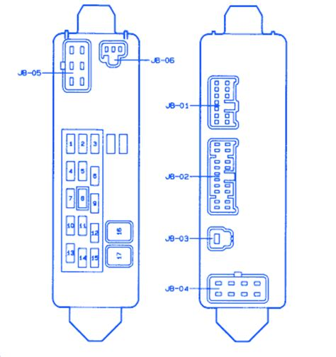 Mazda Protege Fuse Box Block Circuit Breaker Diagram