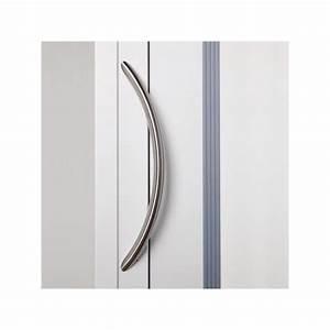 poignee de porte d39entree cintree inox en vente chez With poignee porte entree inox