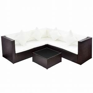 Ersatzauflagen Set Für Rattan Sitzgruppe : vidaxl lounge set poly rattan braun gartenm bel sofa sitzgruppe sitzgarnitur ebay ~ Sanjose-hotels-ca.com Haus und Dekorationen