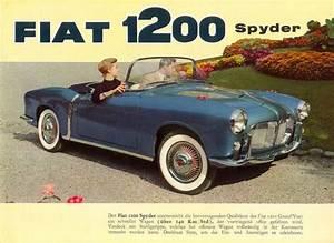 1957 Fiat 1200 Tv Trasformabile For Sale