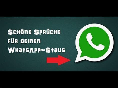sch 246 ne spr 252 che und whatsapp status