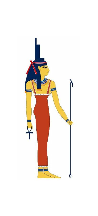 Isis Egyptian Goddess God Shu Ancient Svg