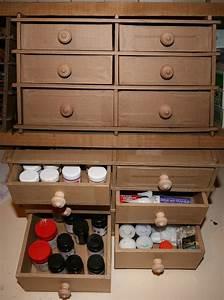 Boite A Tiroir : boite tiroirs en carton creations artisanales ~ Teatrodelosmanantiales.com Idées de Décoration