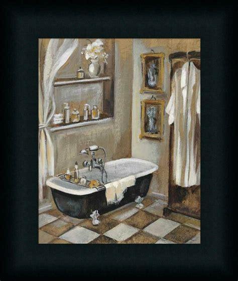 french bath iii silvia vassileva bathroom spa framed art