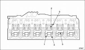 Series 60 Cylinder Head Assembly Diagram