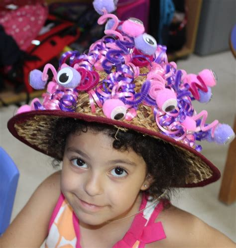 preschool crazy hat day sagesse high school