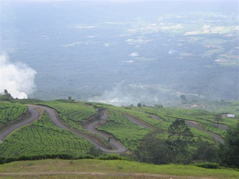 dempo mountain lahat south sumatra visit indonesia