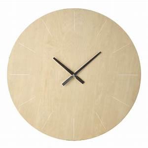 Horloge 80 Cm : horloge en bois d 80 cm norway maisons du monde ~ Teatrodelosmanantiales.com Idées de Décoration