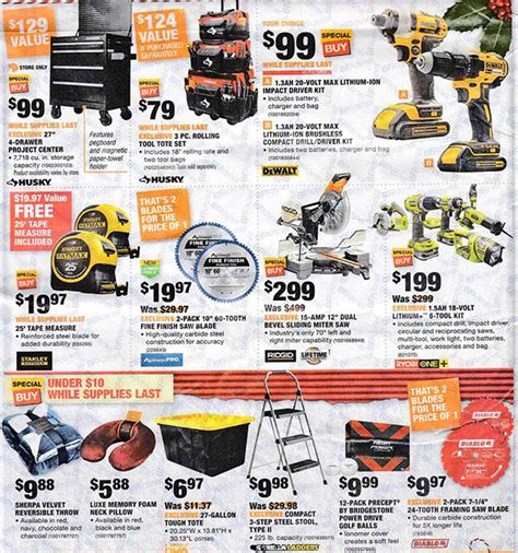 black friday deals on floor ls home depot black friday 2017 tool deals