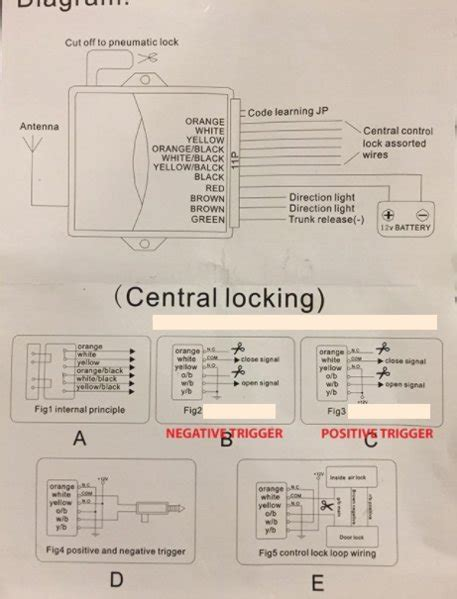Manual Door Locks Windows Mirrors Power Retrofit