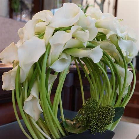 calla lilies beautiful design floral arrangement