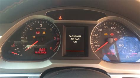 audi a6 questions abs light traction light and glow all lite up car not sta