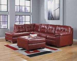20 top ashley furniture leather sectional sofas sofa ideas for Small sectional sofa ashley furniture