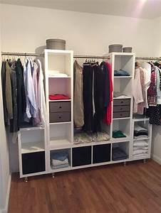 Faltbarer Kleiderschrank Ikea : kleiderschrank ikea kallax stangen und die f e ber ebay innendesign pinterest closet ~ Orissabook.com Haus und Dekorationen
