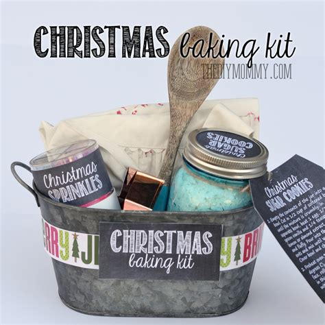 a gift in a tin christmas baking kit the diy mommy