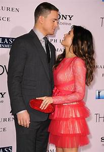 Jenna Dewan and Channing Tatum at The Vow premiere in LA ...