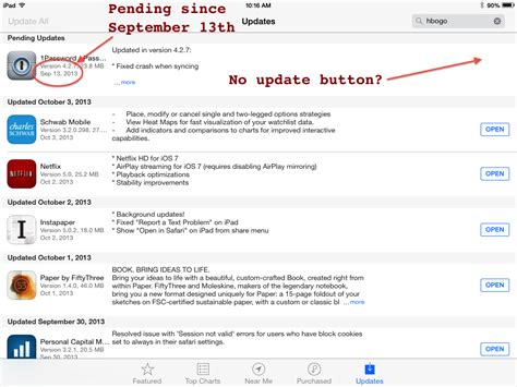 iphone apps not updating ios appstore ios 7 apps on show up as installed but