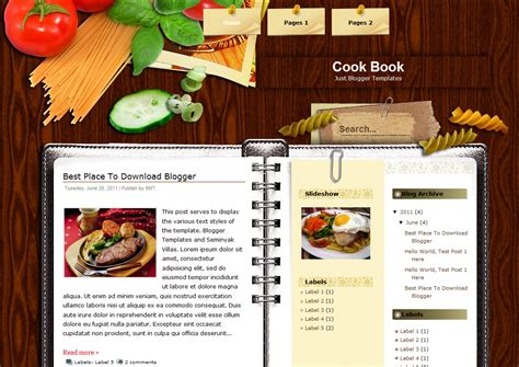 cookbook template mixing food and at the library the clare chion