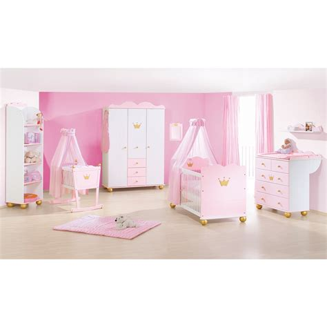 chambre fille bébé deco chambre bebe fille princesse