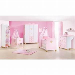 Commode Bebe Fille : deco chambre bebe fille princesse visuel 8 ~ Teatrodelosmanantiales.com Idées de Décoration