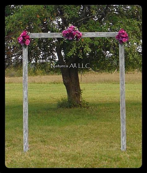 diy wedding arch country wedding decor rustic wedding arch
