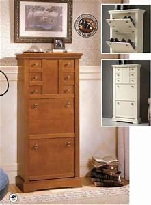 Schuhschrank Nussbaum Weiß : garderobe schuhschr nke schuhkommoden massiv holz kirsche nussbaum ~ Markanthonyermac.com Haus und Dekorationen