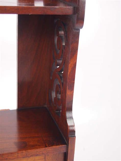 victorian walnut hanging cabinet bathroom cabinet