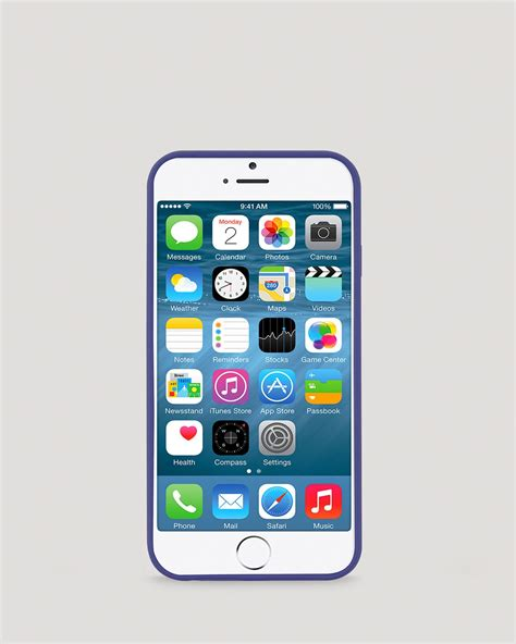 spade iphone kate spade new york iphone 6 leather wrap in blue