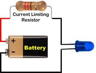 Led Dropping Resistor Calculator For Leds Current Needs