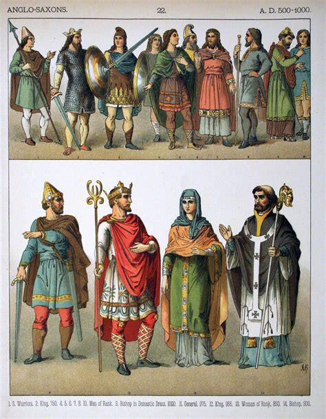 1000 images about s historical clothing on file a d 500 1000 anglo saxons 022 costumes of all