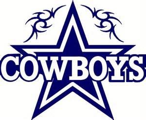"Dallas Cowboys Star Logo Decal Sticker 12""X10"" NFL Football Champions Free Ship"