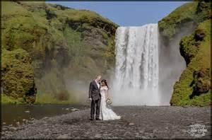 waterfall wedding venues skogafoss waterfall wedding photos iceland wedding photographer iceland wedding planner and