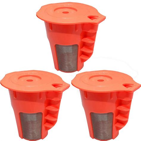 Cuisinart 10 cup programmable coffee maker black dcc from www.pinterest.com. 3 Pack Keurig 2.0 Refillable K-Carafe Reusable Coffee Filter Replacement Orange | eBay