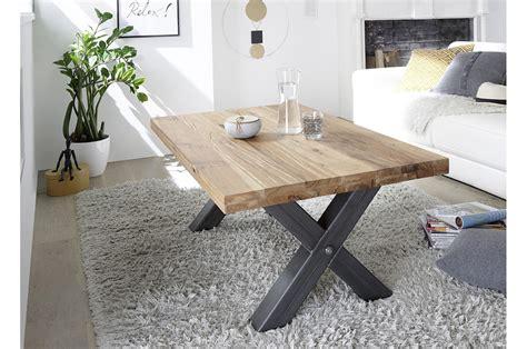 table bois massif table basse bois massif style industriel cbc meubles