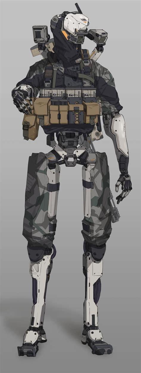cyborgs ideas  pinterest android art