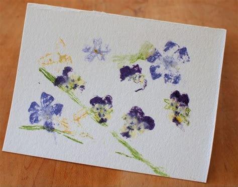 Flower Pounding Card Making Idea Allfreepapercraftscom
