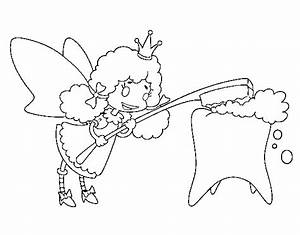 Tooth Fairy coloring page - coloringcrew.com