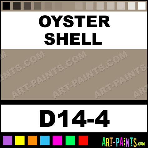 oyster shell interior exterior enamel paints d14 4