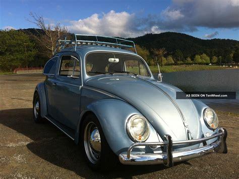 old volkswagen 1958 vw volkswagen classic beetle bug lowered dual