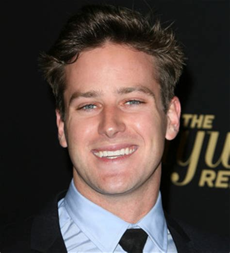 Armie Hammer refused to shave chest for new role - Young ...