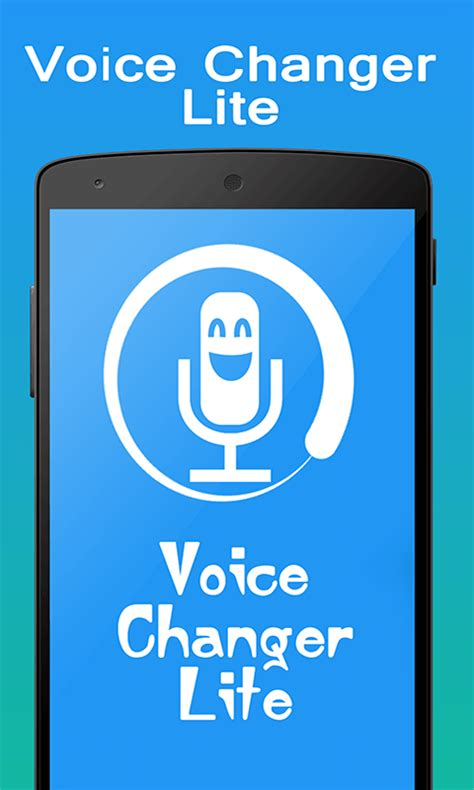 voice app android voice changer lite free app android freeware