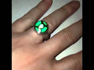 Ring Leuchtstoffröhre Led : working green lantern cosplay ring with led light youtube ~ Markanthonyermac.com Haus und Dekorationen