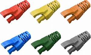 Powermax Strain Relief Rj45 Boot  6 5mm  U00d8