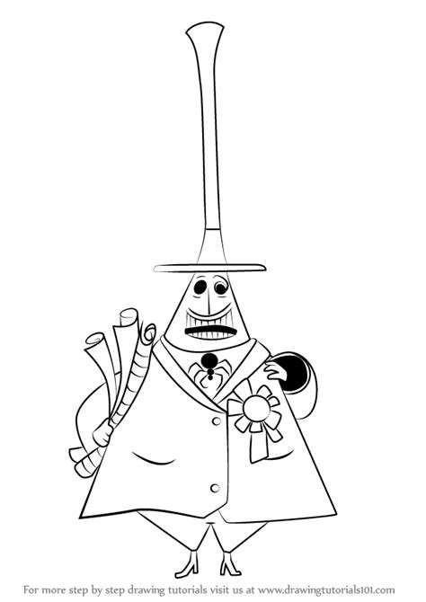 learn   draw mayor  halloween town