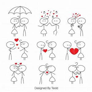 Stick Figure Clipart Clip Art Stick People Couple Clipart